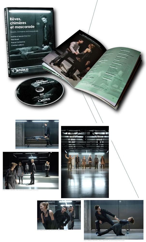DVD Rêves, chimères et mascarade - OMNIBUS | 2009
